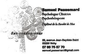 Samuel Passemard Vichy
