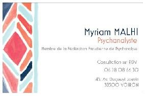 Myriam MALHI Voiron