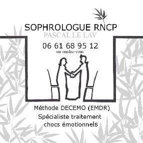 logo Pascal LE LAY Sophrologue RNCP- praticien Neurofeeback