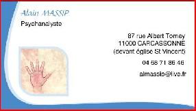 Cabinet de Psychanalyse Alain Massip Carcassonne