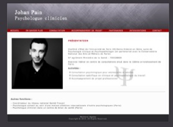 Johan Pain Paris