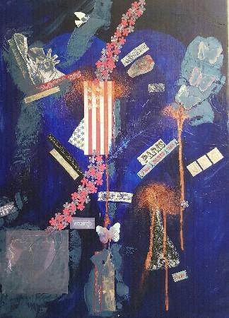 Travail sur les traumatismes laissés par les attentats du 11 septembre 2001, et des attentats de Paris.